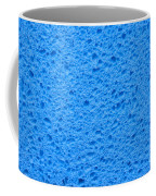 Blue Sponge Texture Coffee Mug