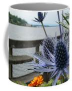 Blue Star Sea Holly Coffee Mug