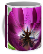 Blue Star Tulip Design 2 Coffee Mug