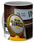 Blue Sunoco Globe Coffee Mug