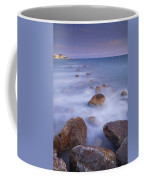 Blue Sunset At The Rocks Coffee Mug