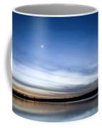 Grapevine Lake Blue Sunset Coffee Mug