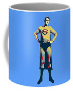 Blue Superman Coffee Mug