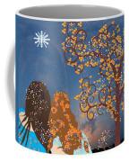 Blue Swirl Girls Coffee Mug
