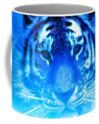 Blue Tiger Coffee Mug