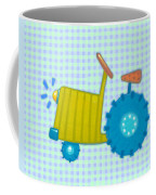 Blue Tractor Coffee Mug