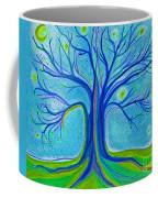 Blue Tree Sky By Jrr Coffee Mug