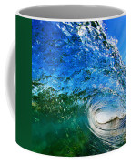 Blue Tube Coffee Mug