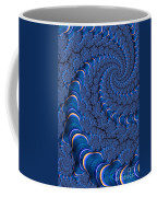 Blue Tubes Coffee Mug