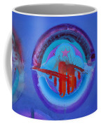 Blue Untitled Image Coffee Mug