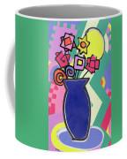 Blue Vase Coffee Mug by Bodel Rikys
