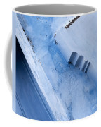 Blue Wall 03 Coffee Mug