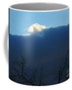 Blue Wall Clouds 2 Coffee Mug