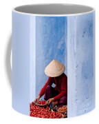 Blue Wall Hawker 02 Coffee Mug