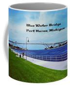 Blue Water Bridge Coffee Mug
