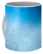 Blue Water Droplets Coffee Mug