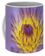 Blue Water Lily Coffee Mug