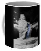 Blue Waterfall Frozen Landscape Coffee Mug by Dan Sproul