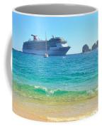 Blue Waters Of Cabo Coffee Mug