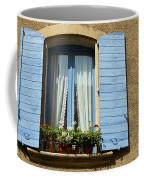 Blue Window And Shutters Coffee Mug