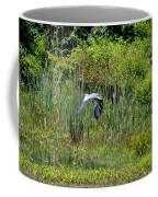 Blue Winged Heron 2013 Coffee Mug