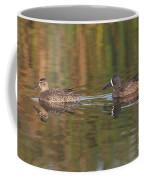 Blue-winged Teal Pair Coffee Mug