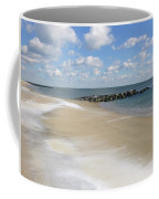 Blue Winter Sea And Sky Coffee Mug