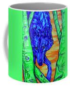 Blue Wolf Coffee Mug