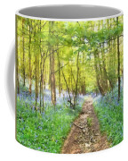 Bluebell Wood Watercolour Coffee Mug