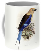 Bluebellied Roller Coffee Mug