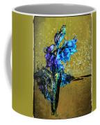 Bluebells In Water Splash Coffee Mug