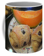 Blueberry Scones And Cantaloupe Coffee Mug