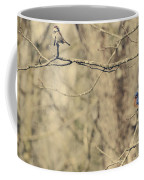 Bluebird And Sparrow Coffee Mug by Heather Applegate