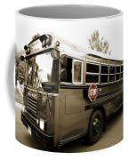 Bluebird Bus Limo 3 Coffee Mug