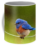 Bluebird  Painting Coffee Mug