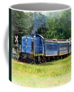 Bluebird Train Coffee Mug