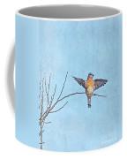 Bluebird Wings - Minimalism Coffee Mug