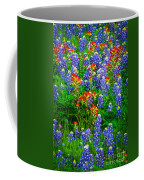 Bluebonnet Patch Coffee Mug by Inge Johnsson