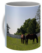 Bluegrass Summer Day Coffee Mug by Roger Potts