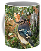 Bluejay And Ice Coffee Mug