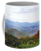 Blueridge Parkway View 2 At Mm 404  Coffee Mug