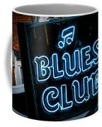 Blues Club On Bourbon Street Nola  Coffee Mug