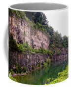 Bluffs Near Marina Norris Dam State Park Coffee Mug