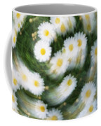 Blurred Daisies Coffee Mug