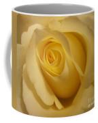 Blushing Cream Rose 3 Coffee Mug