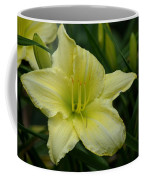 Blushing Yellow - Lilies Coffee Mug