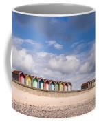 Blyth Beach Huts Coffee Mug
