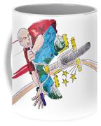 Bmx Drawing Peg Grind Coffee Mug