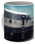 Bn F9 Train Engine Textured Coffee Mug