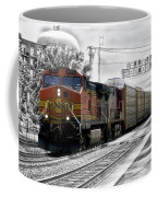 Bnsf Train Coffee Mug